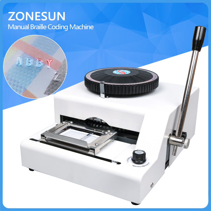 ZONESUN BestEquip Power Tool Parts Stamping Machine72 Character PVC   Embossing Indenting Machine молитвы о семье