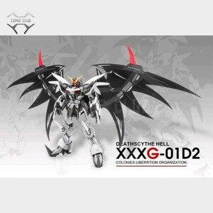 Image 3 - COMIC CLUB IN LAGER MODLE HERZ Deathscythe Hölle Gundam XXXG 01D2 ew MG 1/100 Action Montage Figur Roboter Spielzeug