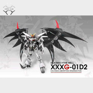 Image 3 - COMIC CLUB IN STOCK MODLE HEART Deathscythe Hell Gundam XXXG 01D2 ew MG 1/100 Action Assembly Figure Robot Toy