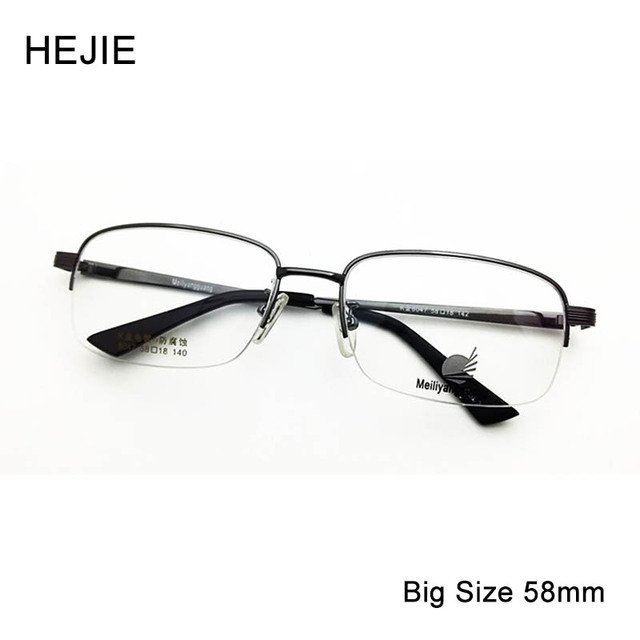 Factory Price Men Women Metal Oversized Optical Eyeglasses Frames ...