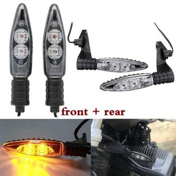 Przednie tylne włącz sygnał świetlny LED światła dla BMW R1200GS F800GS S1000RR F800R K1300S G450X F800ST R dziewięć T tanie i dobre opinie Bakuis Światło migacza CN (pochodzenie) For BMW R1200GS For BMW K1300R For BMW F800 GS R 1 pair Front Rear ABS Plastic housing PC Le