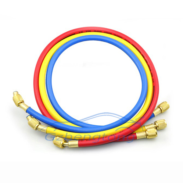 1.5m (4.9ft) Refrigerant Charging Hose Fluoride Tube R12 R22 R134A 502 404A Car Air Conditioning