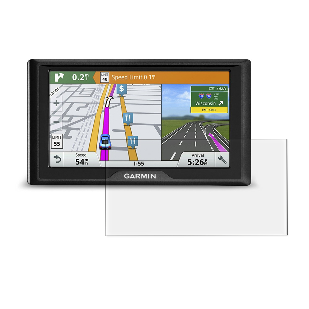 2x BROTECT Matte Screen Protector for Garmin Nüvi 52 LM Protection Film
