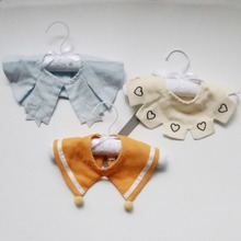 3Pcs/set Bibs & Burp Cloths Cotton Muslin Newborn Baby Soft Feeding Breathable Apron For Girls Accessories
