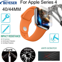 Full Coverage Screen Protective film For Apple Watch for watch Series 4 40/44MM For Apple Watch glass Explosion-proof membrane marc saltzman apple watch for dummies