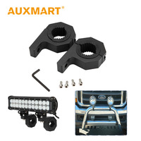 Auxmart 2 1 4 Bull Light Bar Mounting Brackets Kit Roof Roll Cage Car Offroad LED