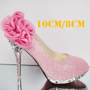 Aliexpress.com : Buy 2015 Fashion paillette 10cm 8cm red gold pink