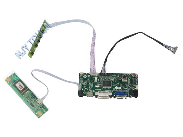 M. NT68676.2A HDMI DVI VGA Placa Controladora de Áudio LCD Universal para 15 polegadas 1024x768 DISPLAY LED G150XG03 2 CCFL Monitor de Kit para Raspberry Pi