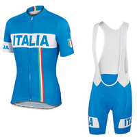 New Designed Men Italy/Italia Cycling Jersey Ropa De Camisa Ciclismo Short Sleeve Bycicle Bike Clothing Sport wear Set