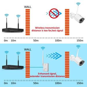 Image 4 - Jennov onvif ipcを拡張無線lan範囲30メートルホームセキュリティカメラ用システムワイヤレスカメラ無線lan信号ブースター2.4 3g wifi
