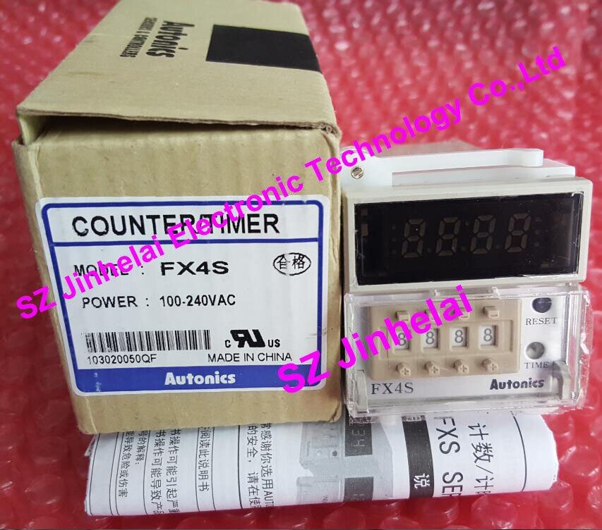 FX4S Authentic original AUTONICS Count relay Counter 100-240VAC