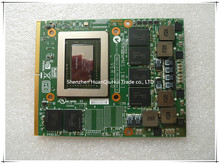 Wholesales MS-1W051 NVIDIA GeForce GTX 570M GTX570M N12E-GT-A1 1.5GB GDDR5 Graphics Card  FOR MSI  full tested