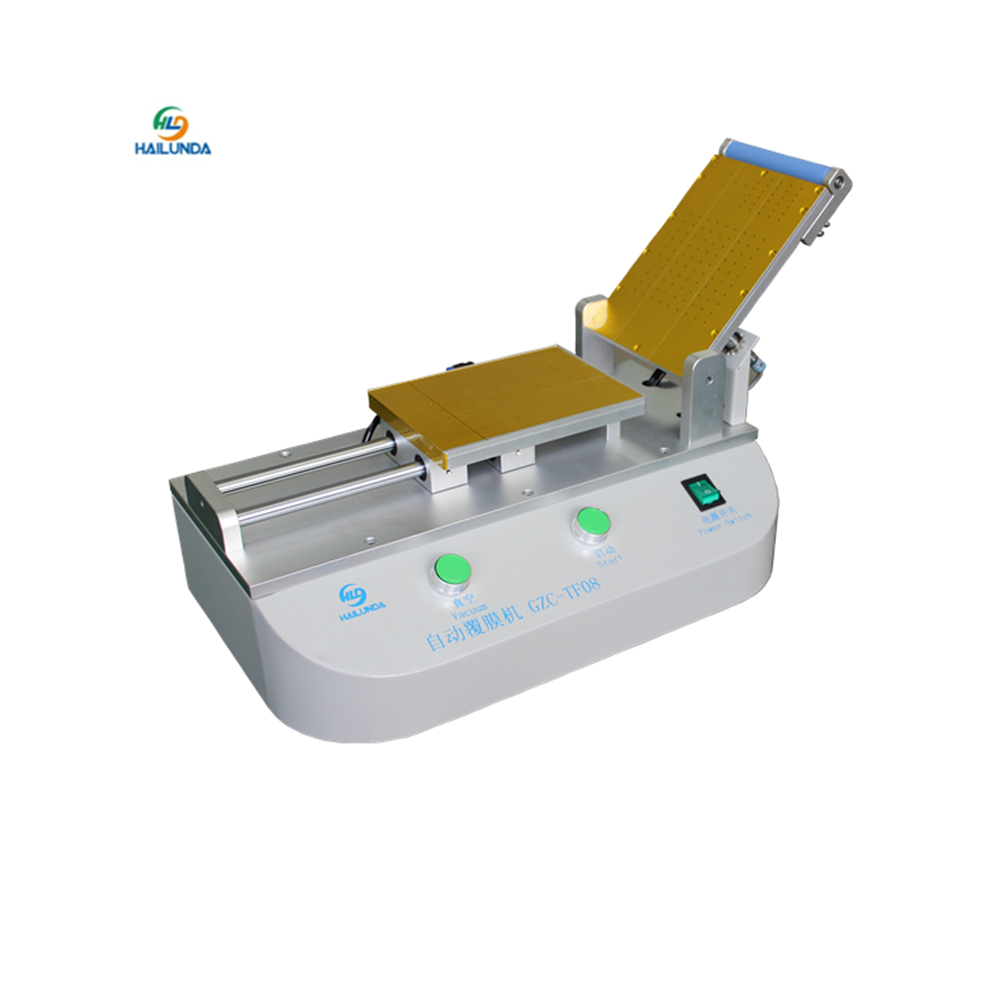Automatic OCA Film Laminating Machine Built-in Vacuum Pump For iPhone Samsung LCD Touch Screen Repair