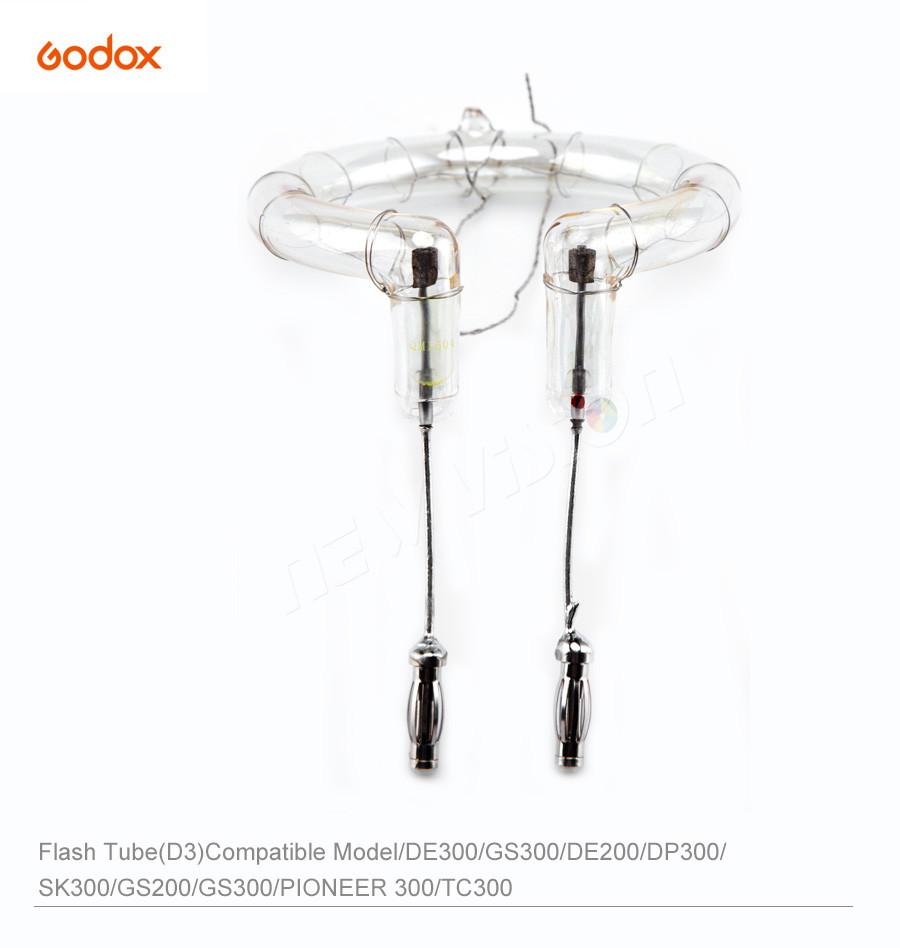 Tubo de Flash de reemplazo para la iluminación de Flash estroboscópico Citi 300 Pro Bombilla De Repuesto AD300