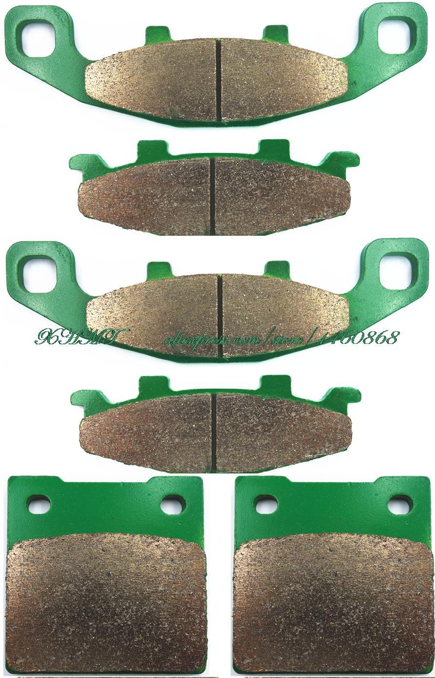Тормозные колодки комплект для Kawasaki Zrx1200 Zrx 1200 R-S 2000 и выше/Suzuki Gsx250 Gsx 250 skatana 1991 и выше
