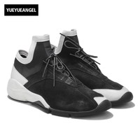 2018 Spring Fall Luxury Men Leisure Low Top Leather Shoes Outdoor Walking Lightweight Breathable Sneakers Men Zapatillas Hombre