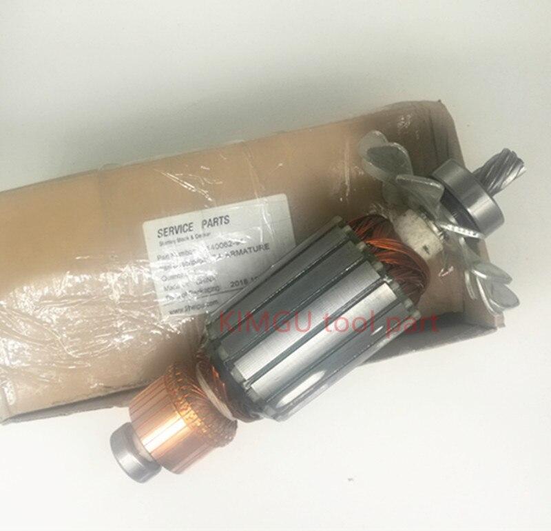 цена на 7teeth AC220-240V Motor Armature for DEWALT 5140062-94 DeWALT D28720 KTM355 PCM355 STEL705 FME700 CS355