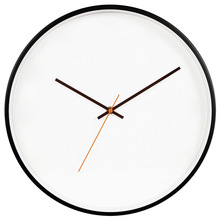 hot deal buy 12/14 inch wall clock modern design wooden metal quartz wall clocks modern simple wall clocks home decor living room