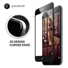 Полный Чехол 3D закаленное стекло, протектор экрана для iPhone 6 6S 4.7″ пленка для защиты стекла Godosmith Ice Max, Новинка 2015