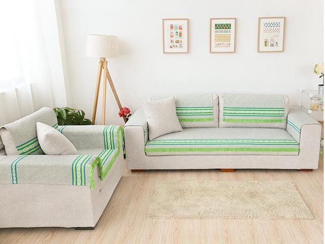 90 cm Breite Baumwolle Sofa Handtuch Sectinal Sofa Abdeckung ...