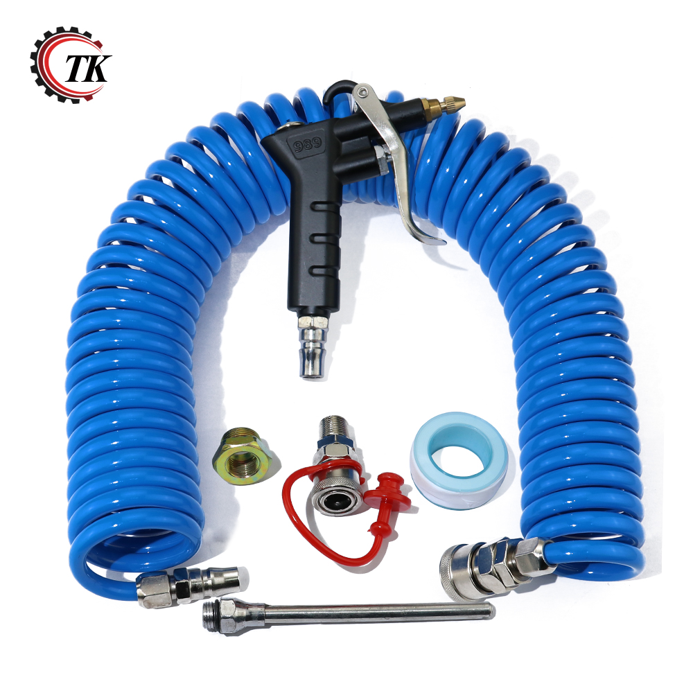 High Pressure Cleaning Spray Gun Air Blow Dust With 1 4 Pneumatic Tekiro Transkoot Extension Rod Duster Tools Compressor