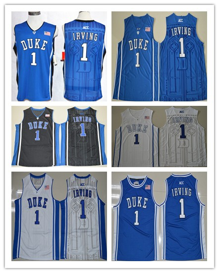 e17ae0c6d3f ... vintage duke blue devils 1 kyrie irving college basketball jerseys in basketball  jerseys from sports