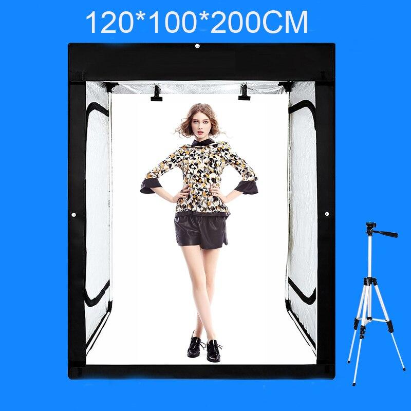 120*100*200 cm Studio Fotografico Softbox Photography Luce casella di Luce di Ripresa Tenda Con Il Regalo Libero + Portatile borsa