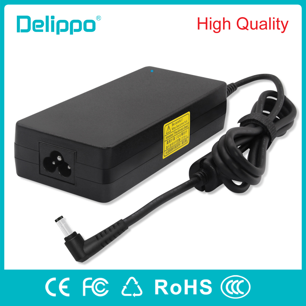Delippo 19V 6.32A 120W AC Laptop Adapter Charger For Asus N53S N55 FX50J N56V N500 N53S N550 C90S G50 Power Supply Charger 120w ac power adapter charger for hp ppp016l e pa 1121 42hq ppp016c ppp016h pc charger 18 5v 6 5a