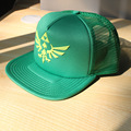 Legend of Zelda tri-force logo emblem green baseball hat HT114
