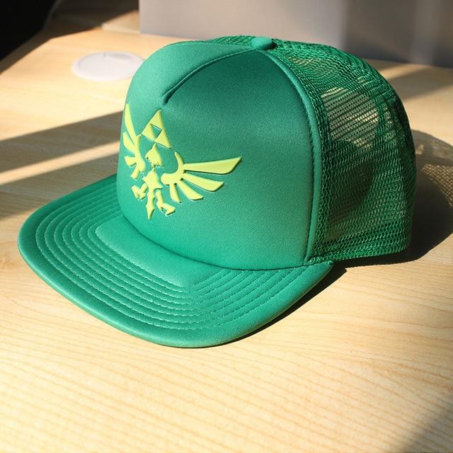 Legend of Zelda tri-force logo emblem green baseball hat HT114