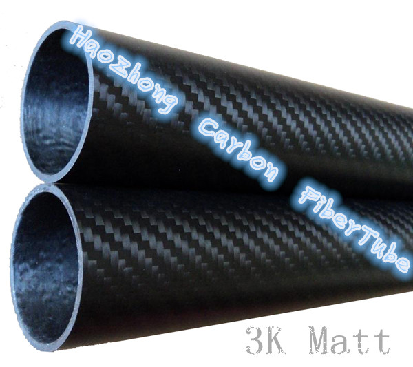80MM x 76MM Carbon Fiber Tube Matt 3k 500MM Long with 100% full carbon, (Roll Wrapped) Quadcopter Hexacopter Model 80*76 4 pcs 3k roll wrapped carbon fiber tube 21mm 19mm 500mm with 100
