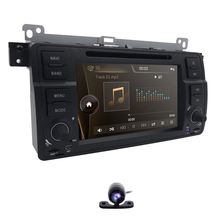 2din 7inch Car DVD Player for BMW E46 M3 3Series MG Rover GPS Headunit 800*480 2 DIN Car dvd Monitor SWC RDS AM/FM DVBT Rear CAM
