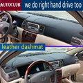 Для Toyota Corolla altis 2003 2004 2005 2006 кожаный коврик для приборной панели коврик от солнца