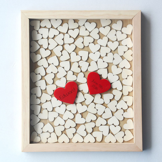 Rustic Wedding Guest Book 3D Alternative Wedding Gifts for Guests ...