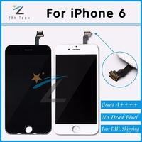 10PCS LOT Mobile Phone Parts For Pantalla IPhone 6 LCD Touch Screen AAA For IPhone 6