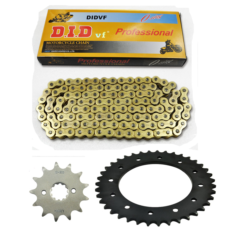 NEW PACKING MOTORCYCLE 520 CHAIN Front  & Rear SPROCKET Kit Set FOR Honda ROAD XR250S XR250 S 1996 motorcycle semi met brake pads set for honda xr250 xr 250 s r 1996
