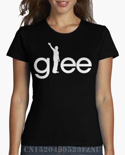 2018 Spring Favourite women t shirt Glee Logo FINN short O neck Print Knitted 3d S-XXXL