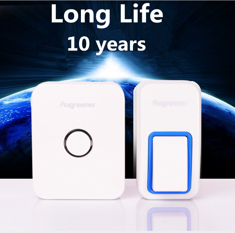 No need battery  Wireless doorbell with 25chimes and 433MHz . High quality & waterproof home door bell.120m easy set up doorbell forecum 5 5f smart wireless doorbell waterproof with receivers 36 chimes battery door bell button 100m range for home office