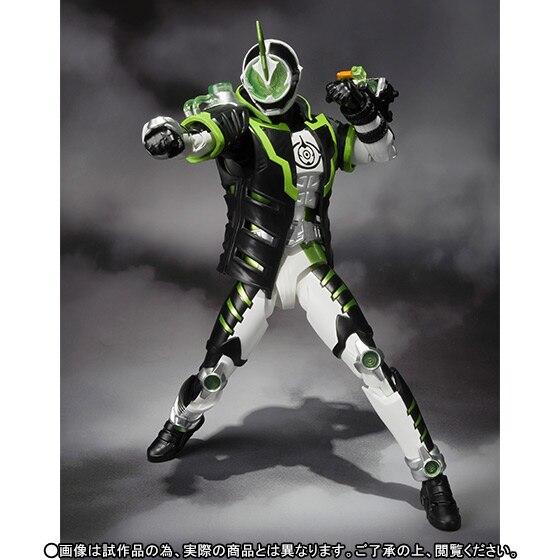 100% Original BANDAI Tamashii Nations S.H.Figuarts (SHF) Exclusive Action Figure - Kamen Rider Necrom from Kamen Rider Ghost