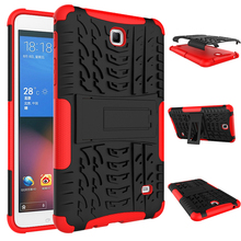 Heavy Duty Rugged Armor Dazzle Shockproof KickStand Fundas Case For Samsung Galaxy Tab 4 7.0″ T230 T231 T235 Tablet Cover Case