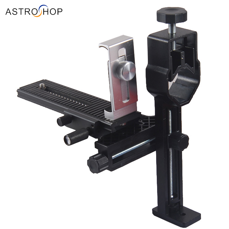 Universal Smartphone /Photography Support Stand Holder(Astronomical telescope, Spotting Scope,Binocular and Microscope)