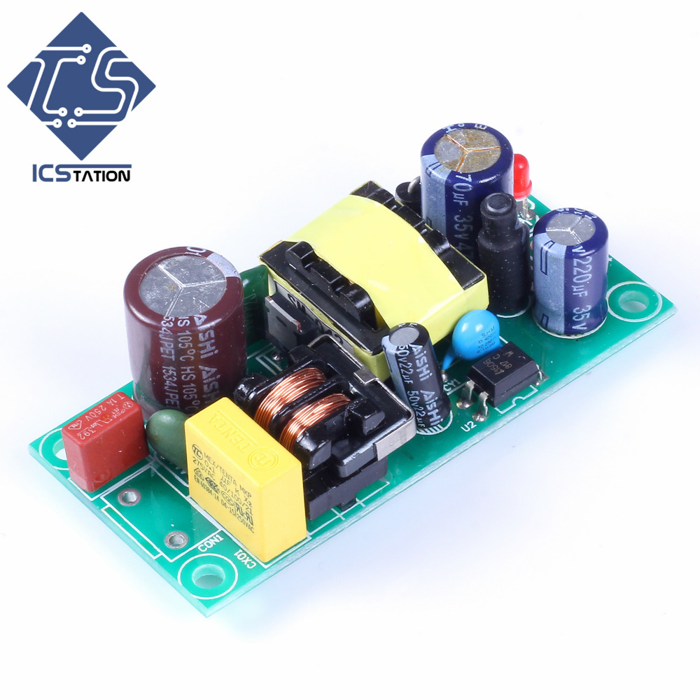 Switching Power Supply Module Free Shipping  AC-DC Isolated Power Buck Converter Step Down Switch Power Module Isolated Board switching power supply module free