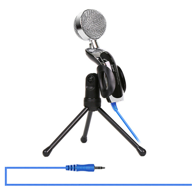 buy sifree wired microphone usb condenser sound recording mic with stand for. Black Bedroom Furniture Sets. Home Design Ideas