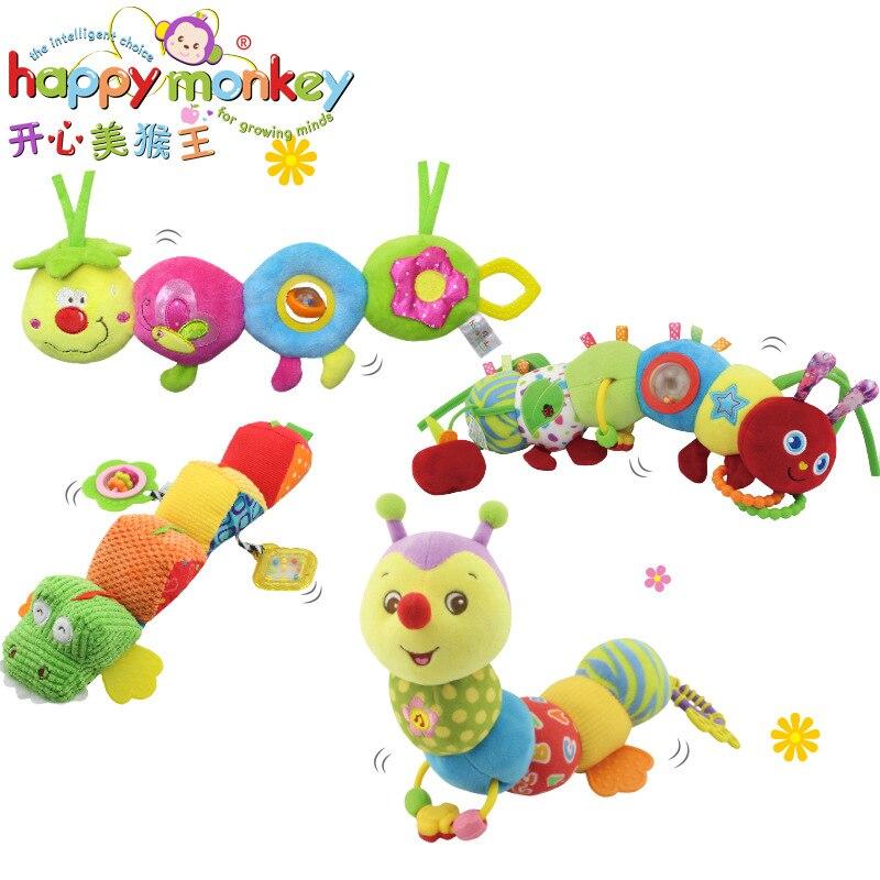 FELIZ MACACO de brinquedos de pelúcia Infantis com os dentes cama - Brinquedos para crianças