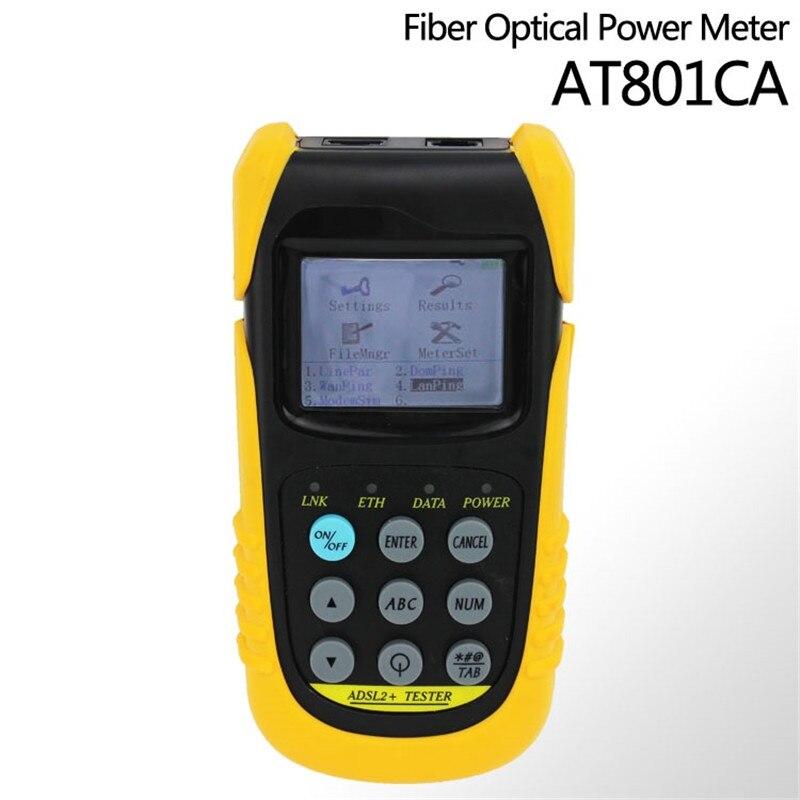 Testeur d'adsl AT801C multifonctionnel ADSL2 + testeur de Test de PING testeur ADSL2