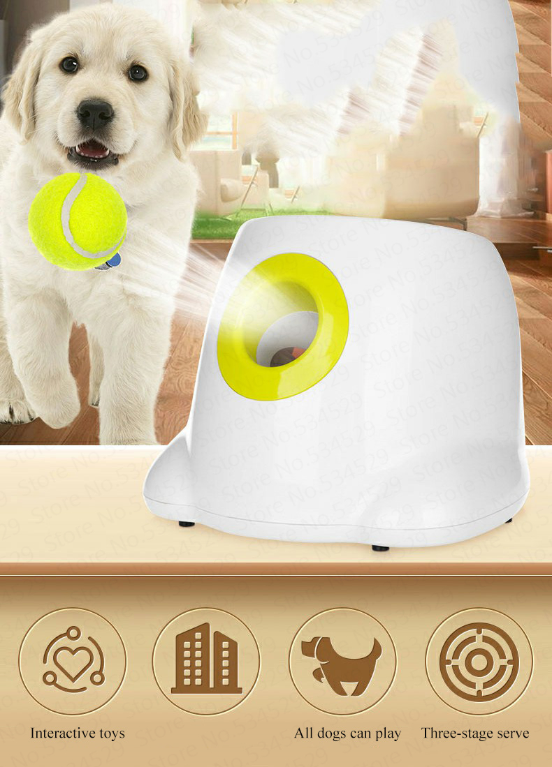 Creative automatic dog ball thrower