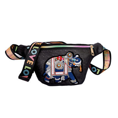 6cbd1f42cc90 MARFUNY brand leather women s waist bag fashion embroidery belt bag female  fanny pack for girls hip bags for women 2018 purses-in Waist Packs from  Luggage   ...