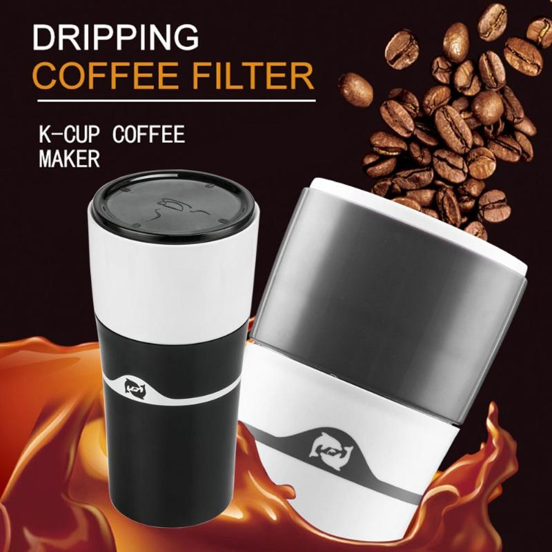 цена 240ml Mini Portable Espresso Coffee Maker Hand Pressure K-cup Caffee Filter Manual Coffee Machine Maker Cup Bottle