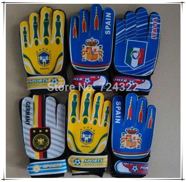 Professional Children Gift Kids Goalkeeper Gloves Sports Training
