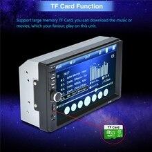 7″ HD MP5 Touch Screen Digital Display Bluetooth Multimedia USB 2din Autoradio Car Monitor